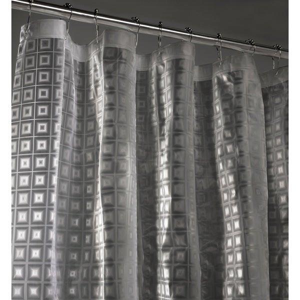 Sqaure 3D Shower Curtain Liner