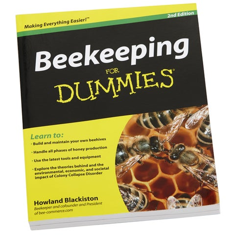 Little Giant Farm & Ag Beekeeping For Dummies Book