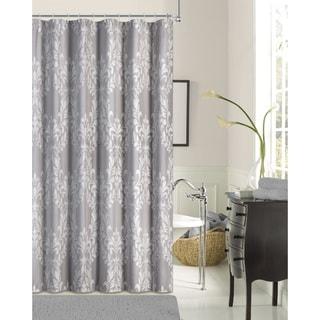 Floral Damask Shower Curtain