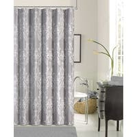 Floral Damask Shower Curtain