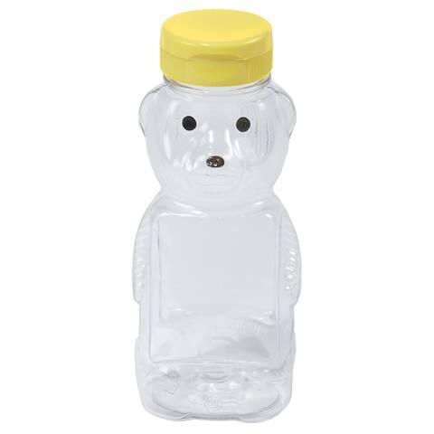 Little Giant Farm & Ag 12 Oz Plastic Honey Bear Bottle 12 Per Case