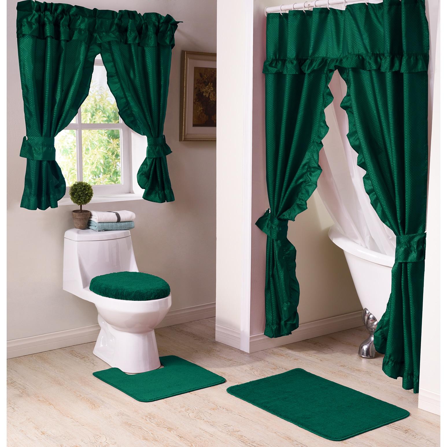 Shop Starlite 11 Piece Shower Curtain and Window Curtain Bath Set