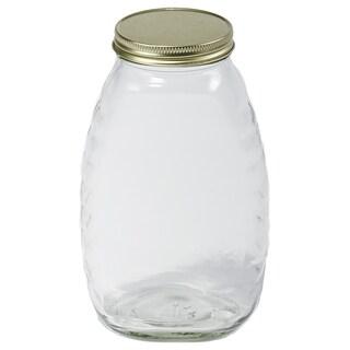 Little Giant Farm & Ag 32 Oz Glass Honey Jar 12 Per Case