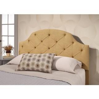 Abbyson Quentin Full/ Queen Gold Tufted Linen Headboard