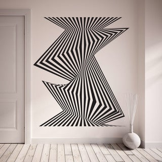 Link to Style and Apply Optical Stripes Wall Decal Similar Items in Vinyl Wall Art