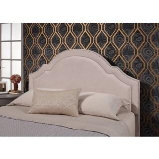 Abbyson Astor Ivory Velvet Upholstered Queen/Full-Size Headboard