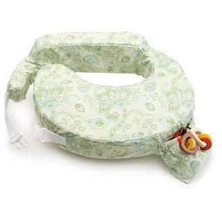 My Brest Friend Green Paisley Inflatable Travel Pillow