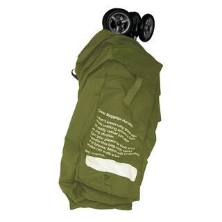 Prince Lionheart Chartreuse Stroller Gate Check Bag