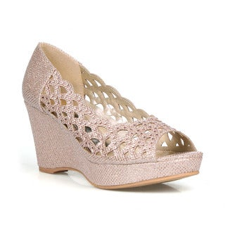 Celeste Hedy-04 Women's Wedge Party Sandals