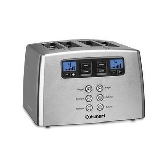 Cuisinart CPT-440 Touch to Toast Leverless 4-Slice Toaster, Stainless Steel (Refurbished)