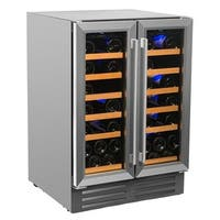 Smith & Hanks 40 Bottle Dual Zone Wine Cooler
