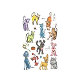 Sizzix THoltz Framelits Die Mini Cats & Dogs Crazy