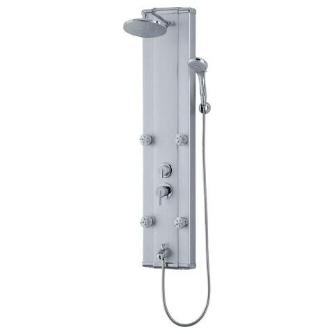 Modern Shower Panel System with Massage Jets LSP5-C