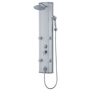 Modern Shower Panel System with Massage Jets LSP5-C
