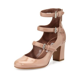 Tabitha Simmons Flesh Ginger Strap Shoes