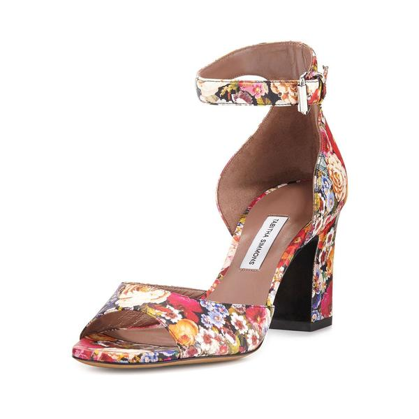 70728bcd9cda Shop Tabitha Simmons Floral Sandals - Free Shipping Today ...