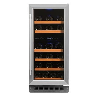 Smith & Hanks 32 Bottle Dual Zone Wine Cooler
