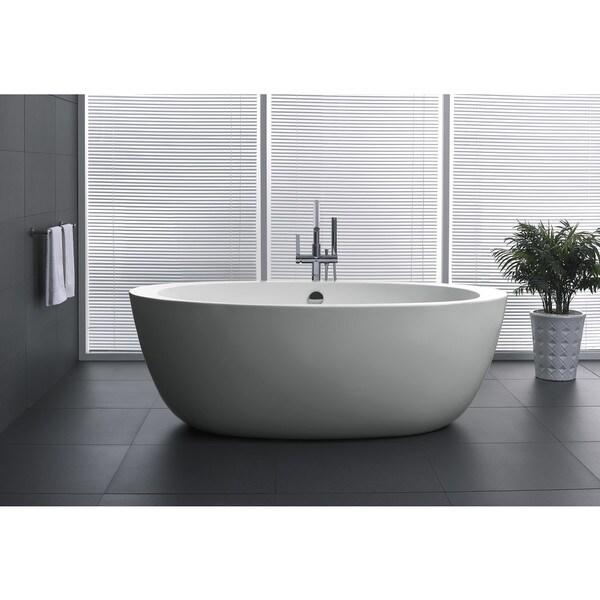4 ft freestanding tub. ANZZI Dualita 5 4 Ft Acrylic Classic Freestanding  Anzzi Yield Series 58 Bathtub In White Chelsea