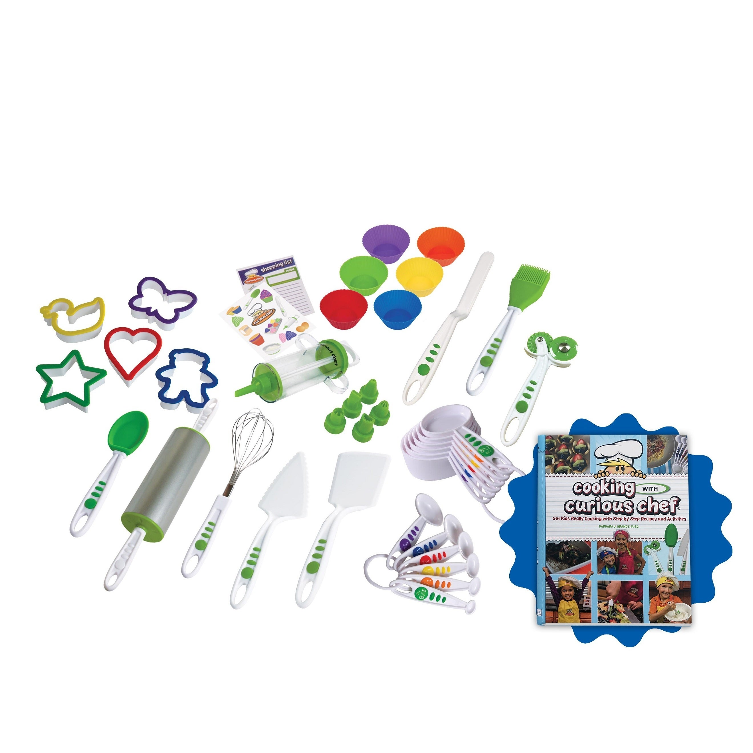 Curious Chef Silicone 38-piece Cookie and Cupcake Bundle ...