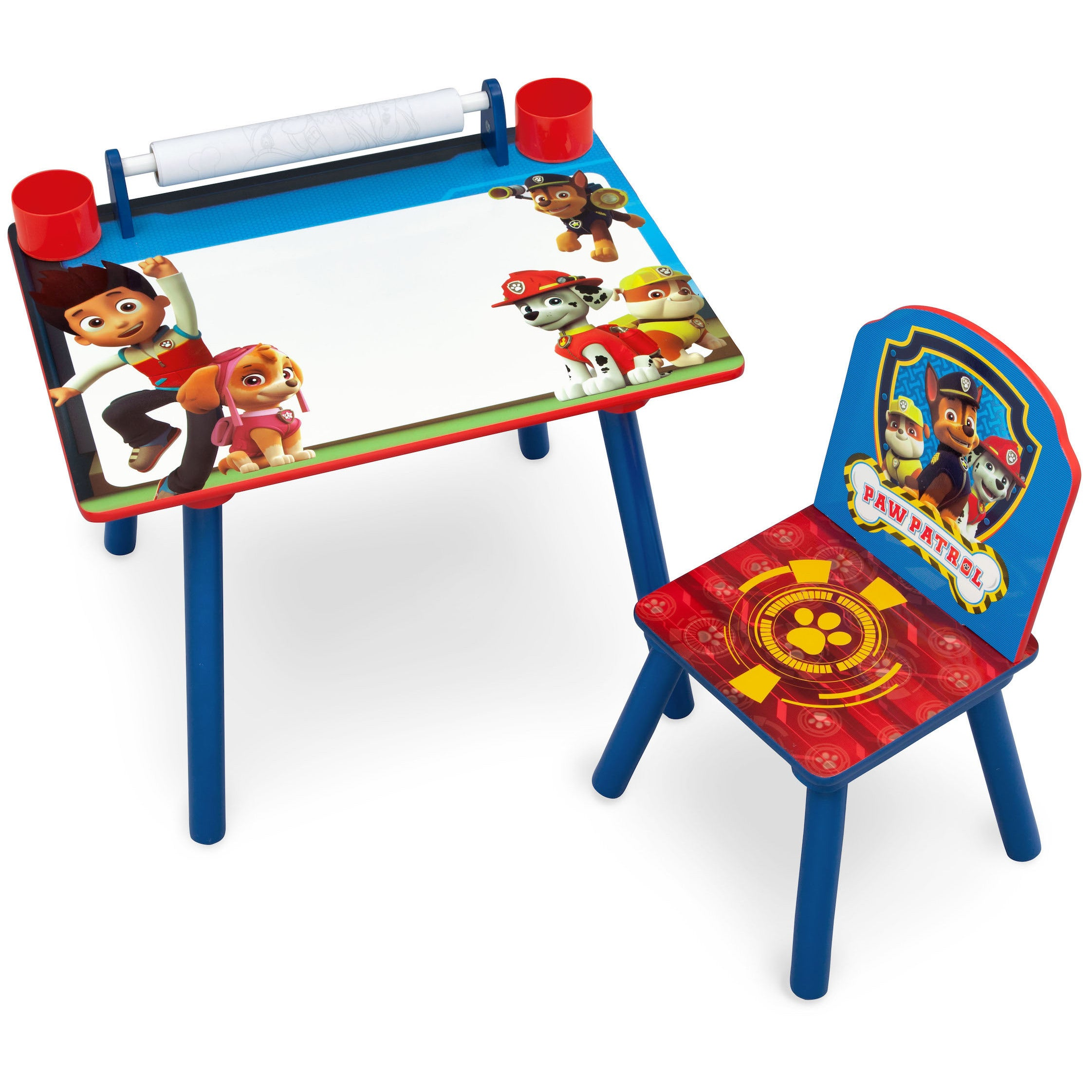 Nick Jr. PAW Patrol Art Desk with Dry-Erase Tabletop by D...