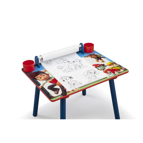 Nick Jr. PAW Patrol Art Desk With Dry Erase Tabletop By Delta Children    Free Shipping Today   Overstock.com   21517023