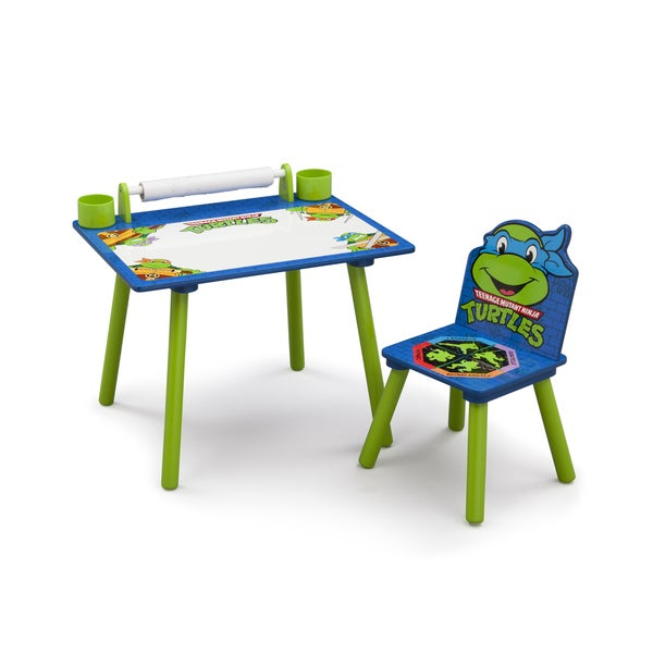 Nickelodeon Teenage Mutant Ninja Turtles Art Desk With Dry Erase Tabletop  By Delta Children   Free Shipping Today   Overstock.com   21517025