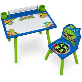 Nickelodeon Teenage Mutant Ninja Turtles Art Desk with Dry-Erase Tabletop by Delta Children