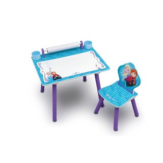Disney Frozen Art Desk with Dry-Erase Tabletop by Delta Children
