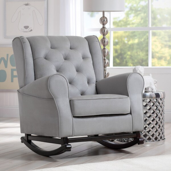 Delta Children Emma Nursery Rocking Chair Dove Grey