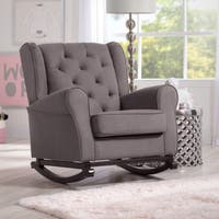 Delta Children Emma Nursery Rocking Chair, Graphite