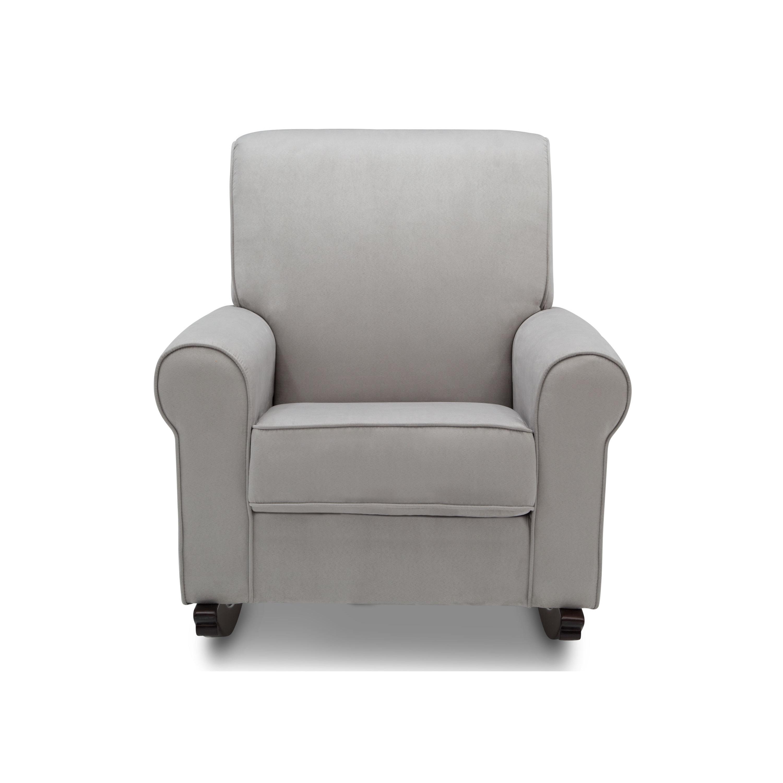 Wondrous Delta Children Rowen Nursery Rocking Chair Dove Grey Beatyapartments Chair Design Images Beatyapartmentscom