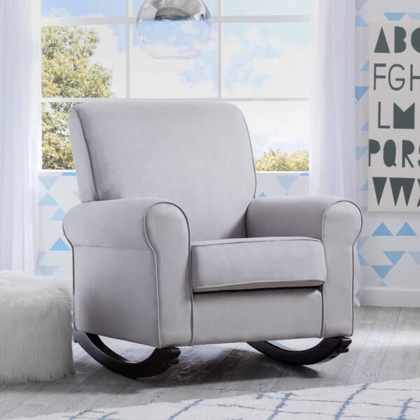 Pleasing Shop Delta Children Rowen Nursery Rocking Chair Dove Grey Unemploymentrelief Wooden Chair Designs For Living Room Unemploymentrelieforg