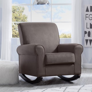 Delta Children Rowen Nursery Rocking Chair, Graphite