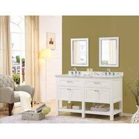 Direct Vanity Sink Preswick Spa 60-inch White Vanity