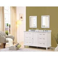 Direct Vanity Sink Winslow 60-inch White Vanity