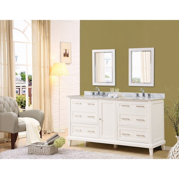 Direct Vanity Sink Winslow 70-inch White Vanity
