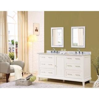 Direct Vanity Sink Winslow 70 Inch White Vanity