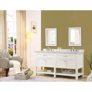 Direct Vanity Sink Preswick Spa 70-inch White Vanity