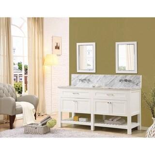 Direct Vanity Sink Preswick Spa Premium 70-inch White Vanity