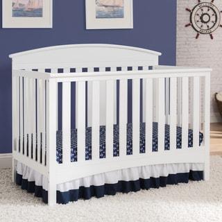 Delta Children Abby 4-in-1 Convertible Crib, Bianca