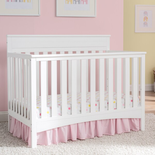 Shop Delta Children Fabio 4 In 1 Convertible Crib Bianca
