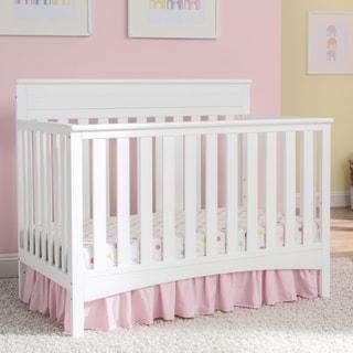 Delta Children Fabio 4-in-1 Convertible Crib, Bianca