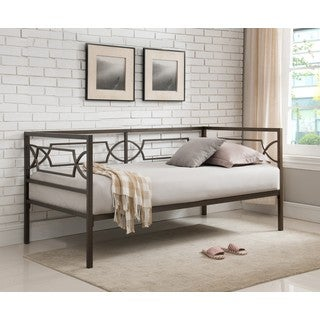 K and B Furniture Co Inc Pewter Metal Daybed