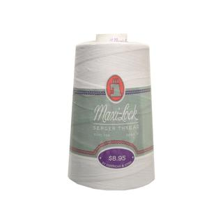 A&E Maxi Lock Thread 6000yd Cone White