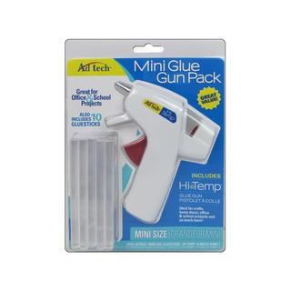 Ad Tech Glue Gun High Temp Mini Pack/10Stick