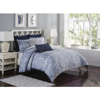 Style Décor Ironwork Cotton Reversible Duvet Cover Set