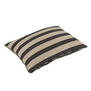 Pieper Sunbrella Berenson Tuxedo Indoor/ Outdoor 26 x 35 Inch Corded Floor Pillow