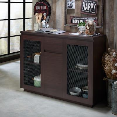 Furniture of America Nenn Contemporary 47-inch 2-shelf Dining Buffet