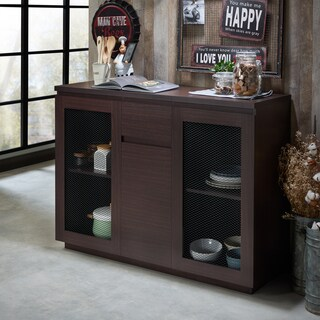 Furniture of America Darwen Contemporary Multi-Storage Dining Buffet