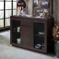 Furniture of America Darwen Contemporary Multi-Storage Dining Buffet